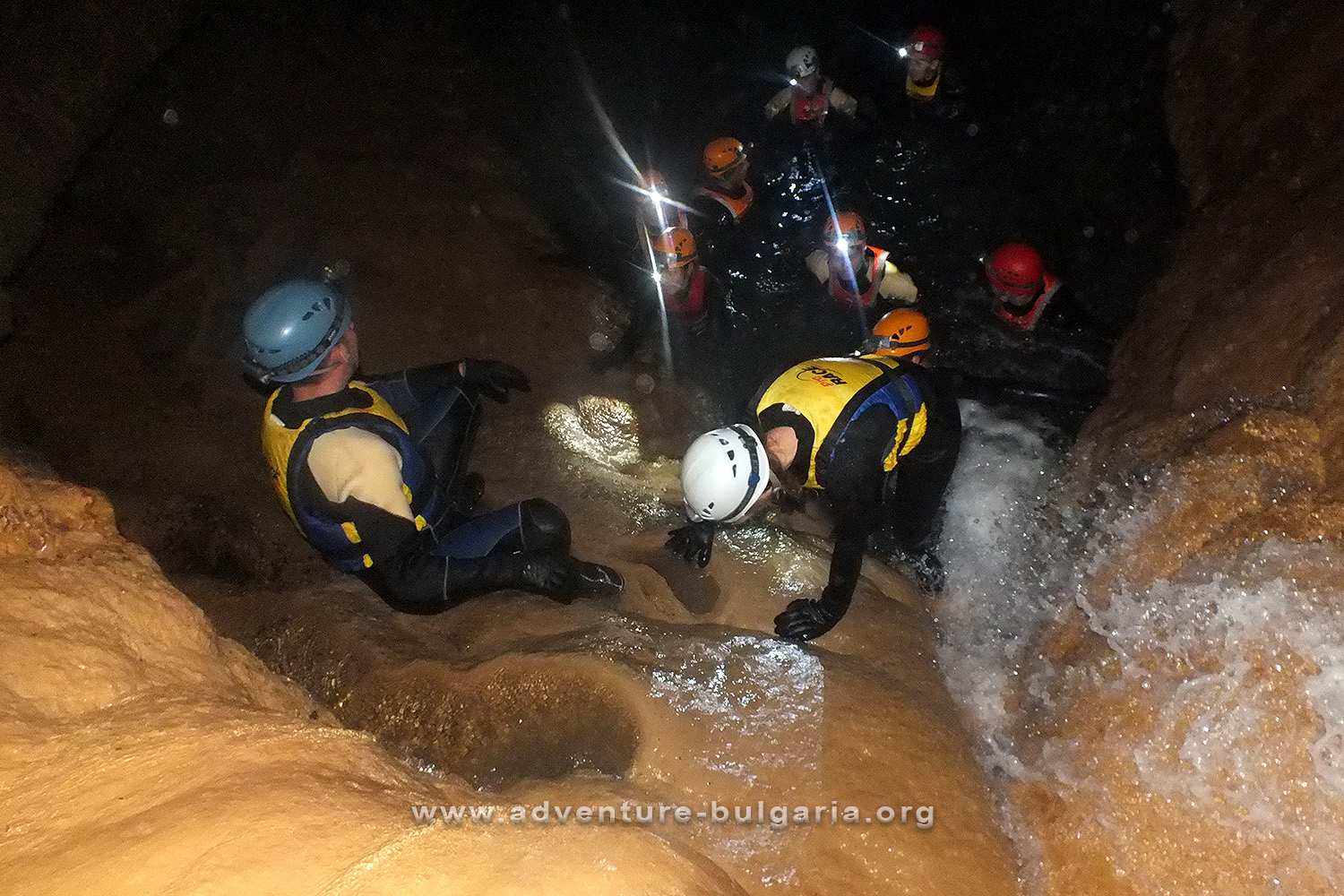 Canyoning and Caving in Bulgaria