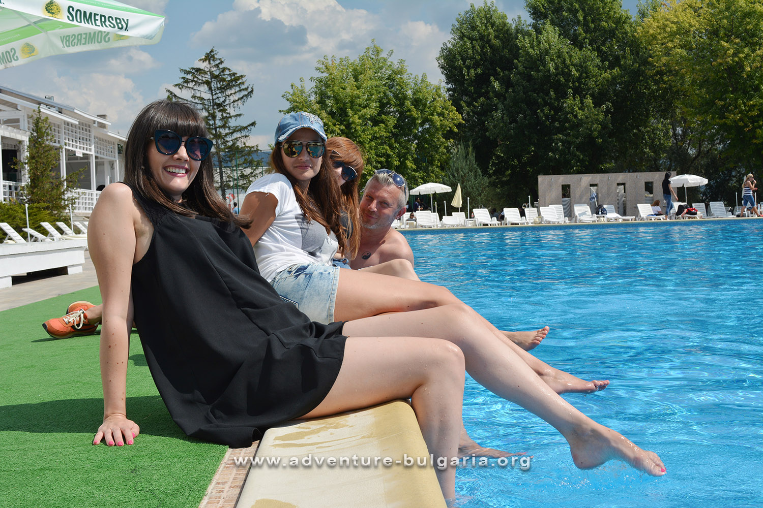 Holidays around the pool - team building in Bulgaria