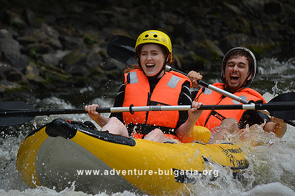 Rafting and Kayaking in Bulgaria with Edelweiss Club