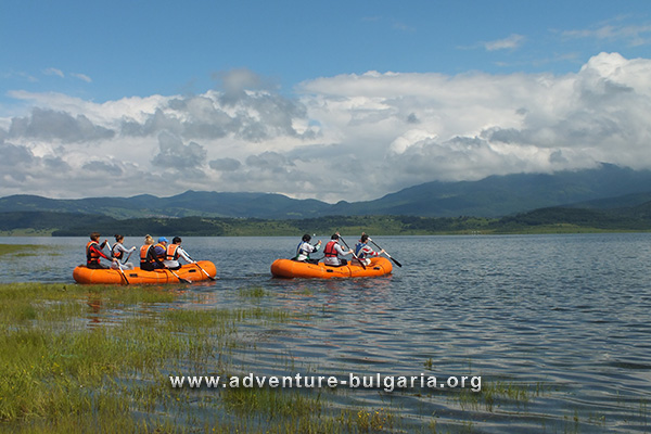 Team Building on Iskar Dam, Bulgaria