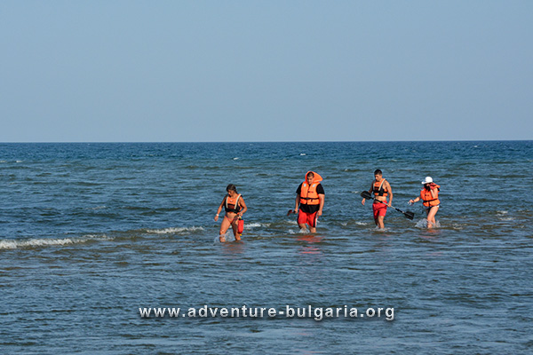 Sea team building in Bulgaria