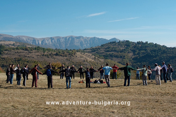 Mountain teambuilding programs in Bulgaria