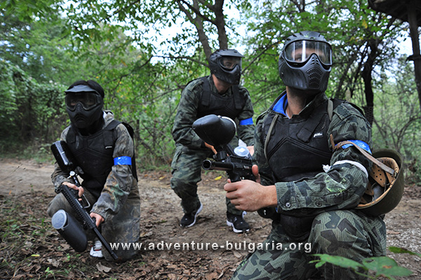 Paintball, Airsoft and Scenario War team building Games with Edelweiss Club, Bulgaria