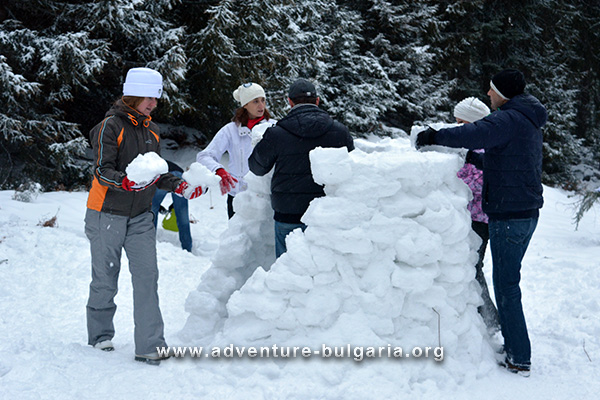 Winter teambuilding programs with Edelweiss club