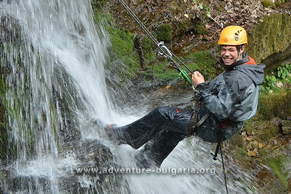 Canyoning in Bulgaria