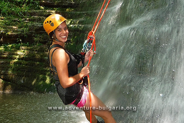 Adventure day with canyoning in Bulgaria