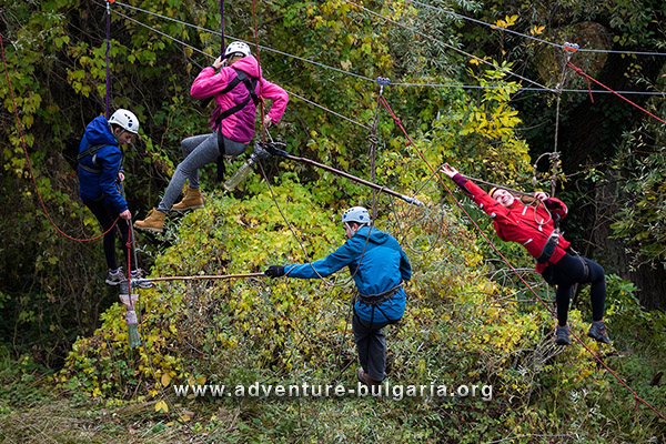 Adventure team Building near Sofia, Bulgaria
