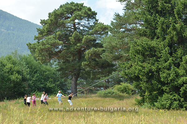Team Building in Rila Mountain, Bulgaria