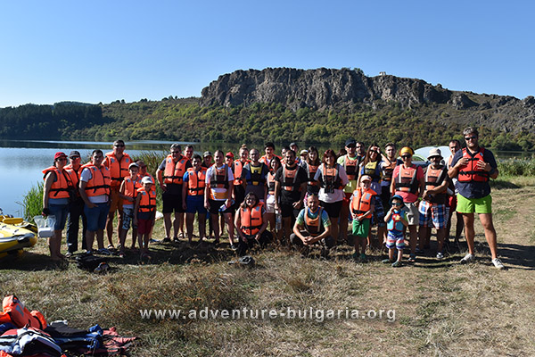 Adventure of the Pchelina dam with the Edelweiss club, Bulgaria