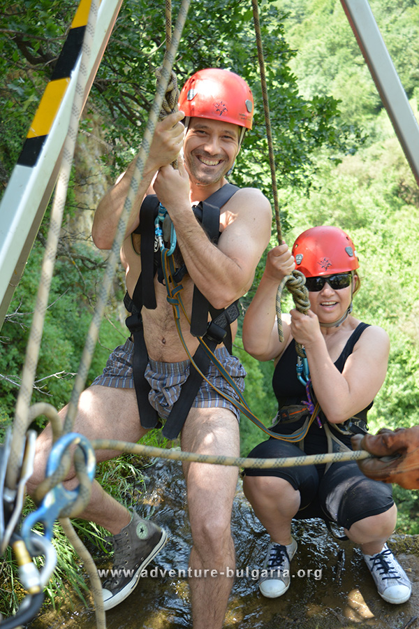 Abseiling and canyoning in Bulgaria