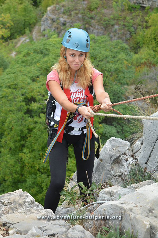 Abseiling, Canyoning and Caving in Bulgaria