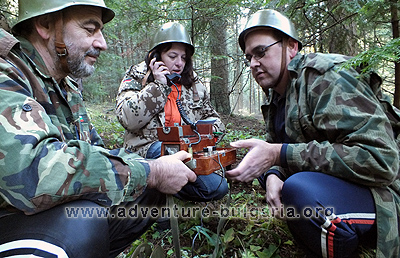 Military teambuilding game with Club Edelweiss, Bulgaria