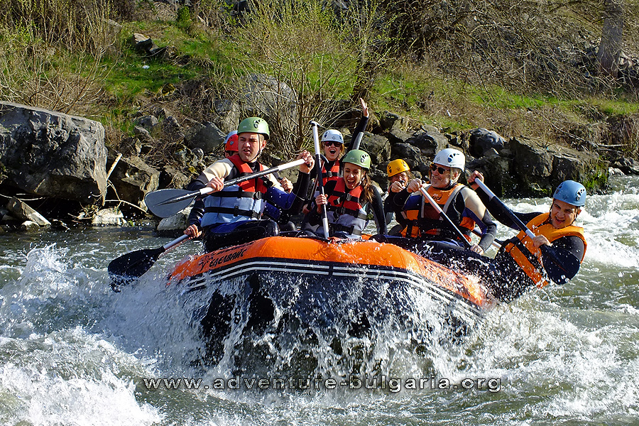 Team Building and Rafting near Sofia, Bulgaria