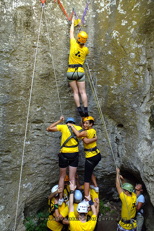 Team Building Events in Bulgaria with Edelweiss club