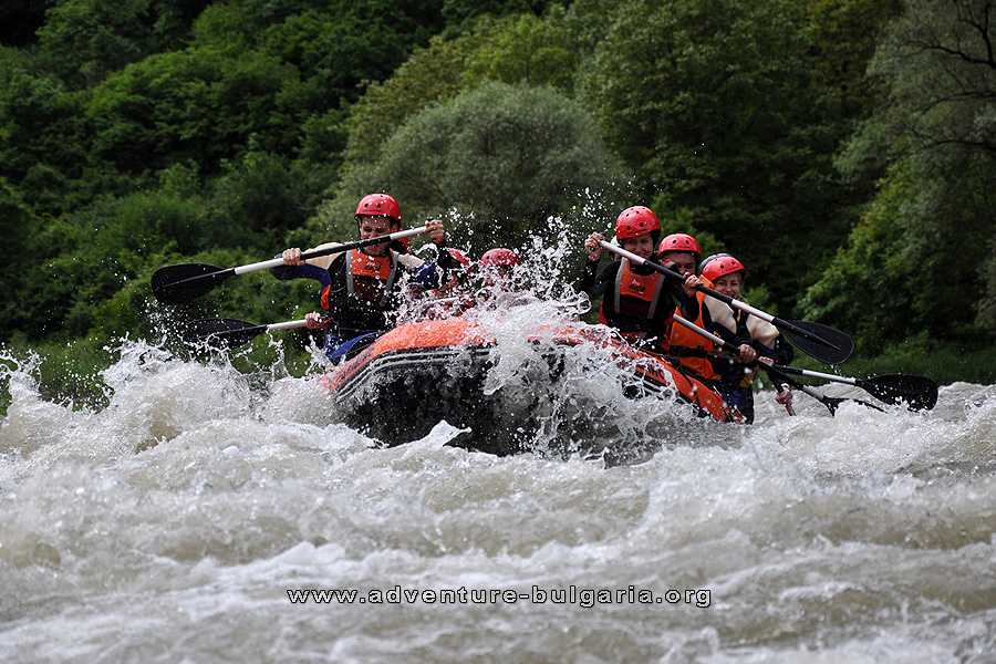 Rafting in Bulgaria with Club Edelweiss