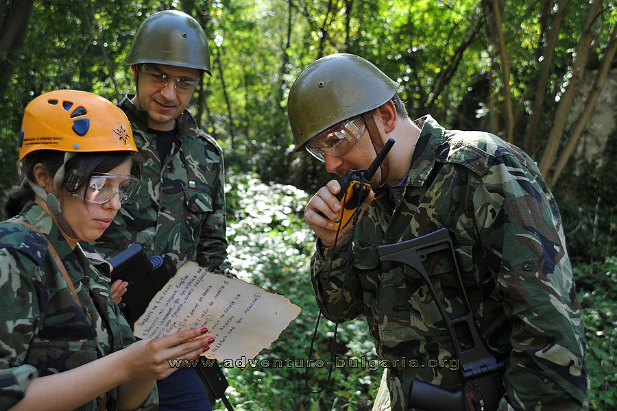 Teambuilding training with airsoft and paintball in Bulgaria