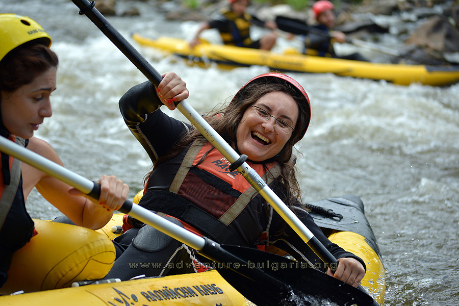 Rafting and Kayaking on Bulgarian rivers with club Edelweiss
