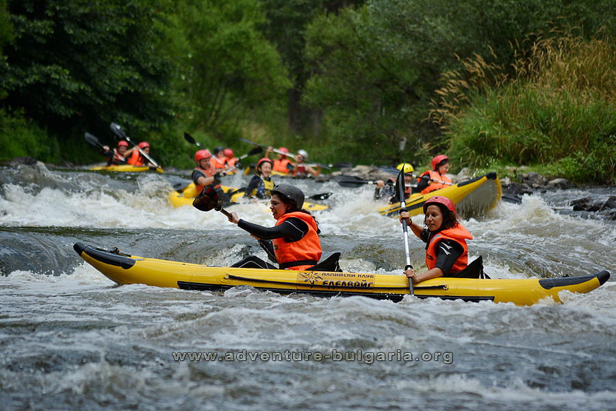 Kayaking in Bulgaria with Club Edelweiss