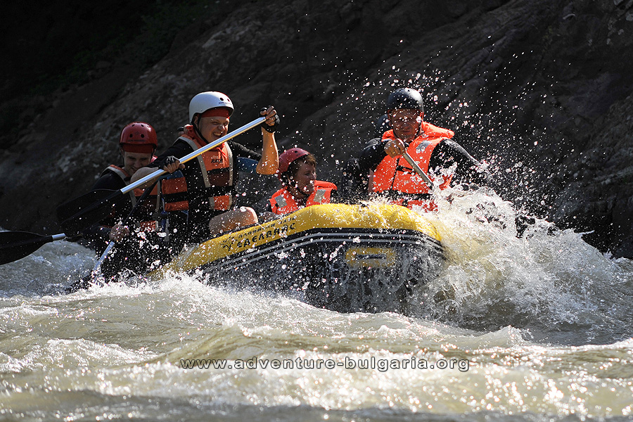 Rafting in Bulgaria with Edelweiss club