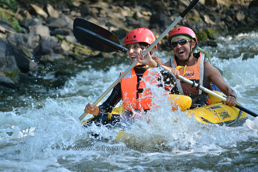 Kayaking in Bulgaria with Edelweiss Club