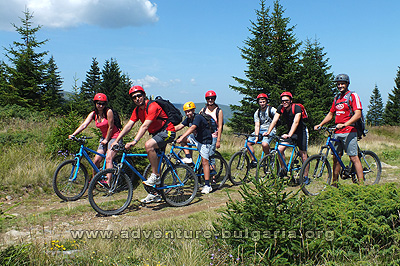 Teambuilding with mountain biking in the Rhodopes, Bulgaria