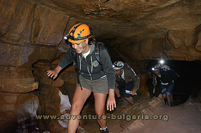 Bulgaria, Teambuilding in a cave