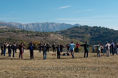 Mountain teambuilding programs in Bulgaria with Edelweiss club