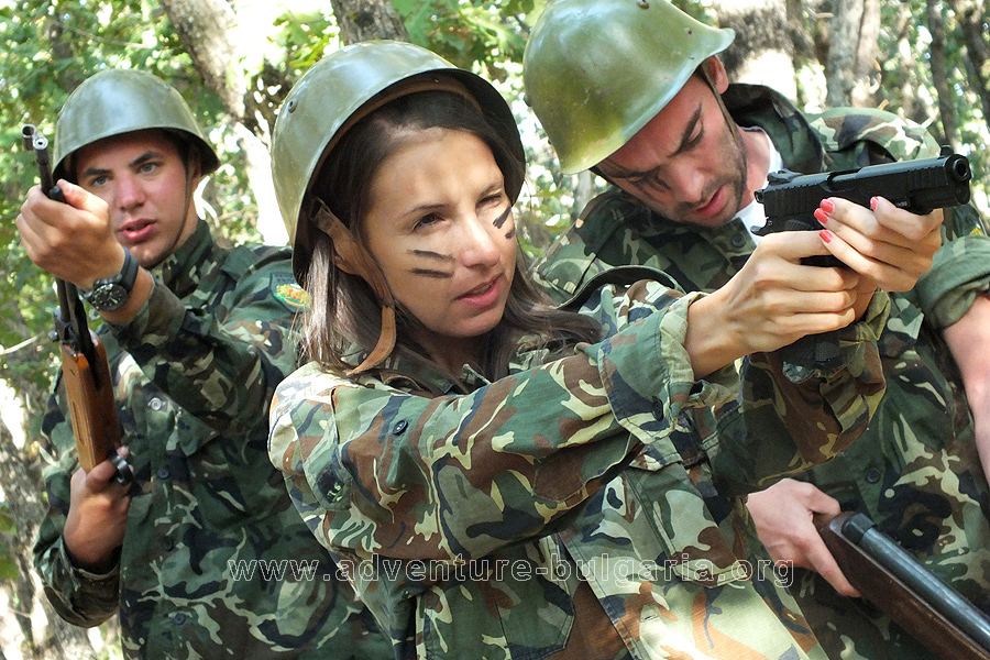 "Military teambuilding task ""Squad for Special Purposes"""